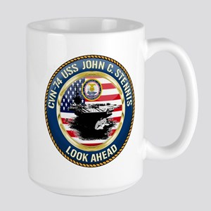 CVN-74 USS John C. Stennis Large Mug