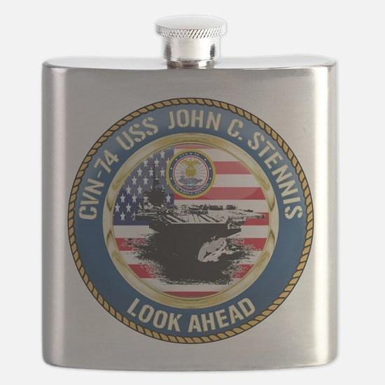 CVN-74 USS John C. Stennis Flask