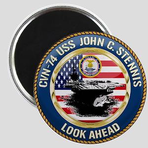 CVN-74 USS John C. Stennis Magnet