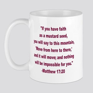 Wdjs Faith As A Mustard Seed Mug Mugs