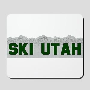 Ski Utah Mousepad