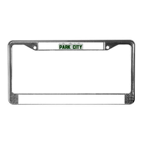 Park City, Utah License Plate Frame
