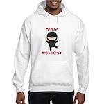 Ninja Biologist Hooded Sweatshirt