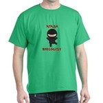 Ninja Biologist Dark T-Shirt