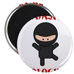 Ninja Biologist Magnet