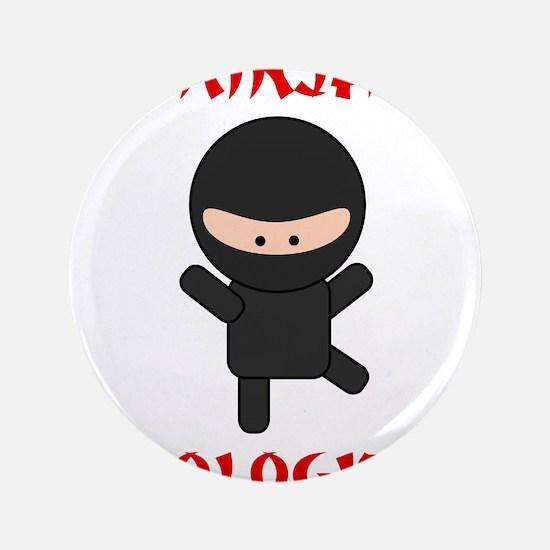 "Ninja Biologist 3.5"" Button"