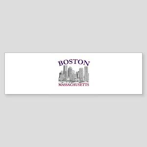 Boston, Massachusetts Bumper Sticker