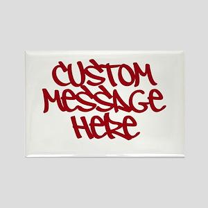 Custom Message Design Magnets