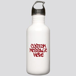 Custom Message Design Water Bottle