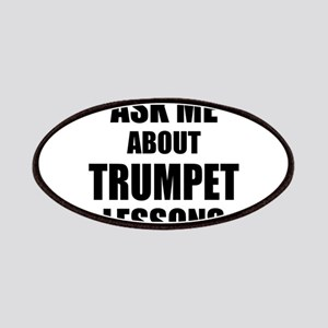 Ask me about Trumpet lessons Patches