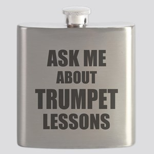 Ask me about Trumpet lessons Flask