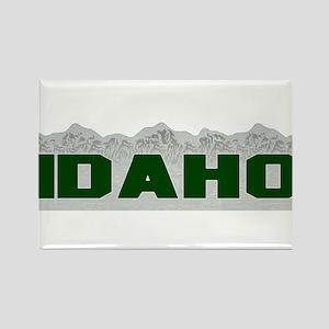 Idaho Rectangle Magnet