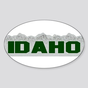 Idaho Oval Sticker