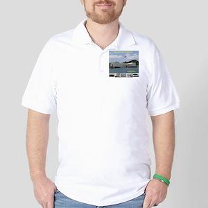 Pearl Harbor, USS Arizona Golf Shirt