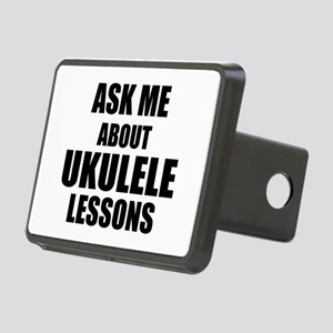 Ask me about Ukulele lessons Hitch Cover