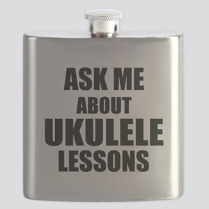 Ask me about Ukulele lessons Flask