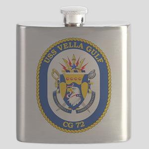 USS Vella Gulf CG-72 Flask