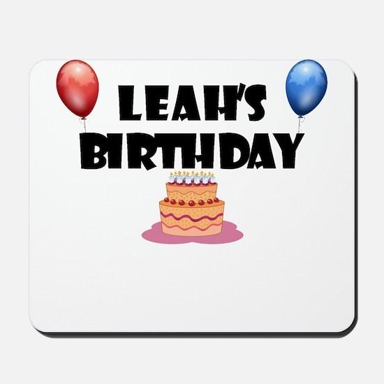 Leah's Birthday Mousepad