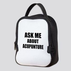 Ask me about Acupuncture Neoprene Lunch Bag