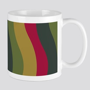 Green Wave With Red Mugs