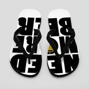 beer5 Flip Flops