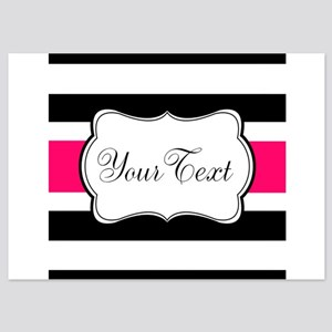 black and white striped invitations and announcements cafepress