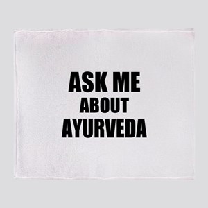 Ask me about Ayurveda Throw Blanket