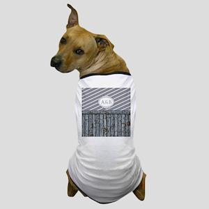 Maritime Monogram Gray Dog T-Shirt