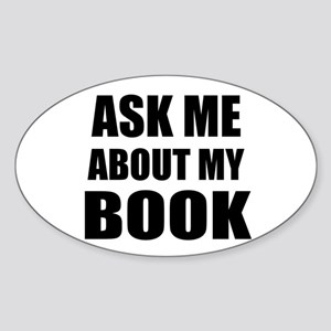 Ask me about my Book Sticker