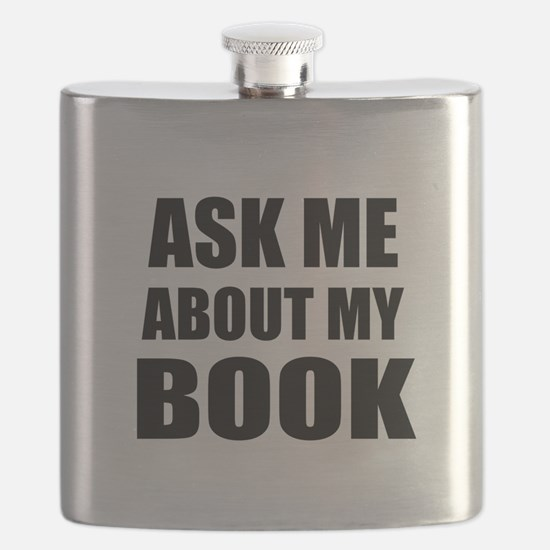Ask me about my Book Flask