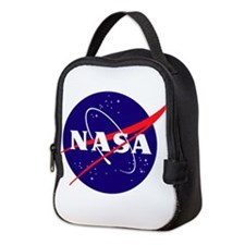 NASA Meatball Logo Neoprene Lunch Bag