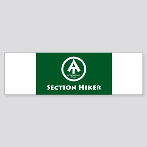SectionHikerRectangleSticker Bumper Sticker