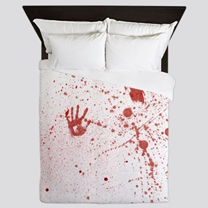 Crime Scene Queen Duvet