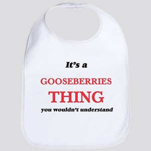 It's a Gooseberries thing, you wouldn Baby Bib
