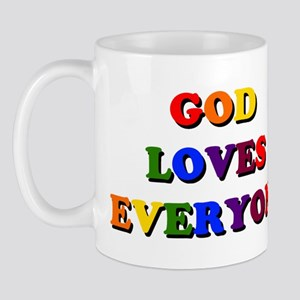 God loves everyone Mug
