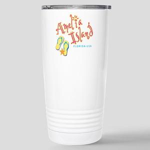 Amelia Island - Stainless Steel Travel Mug