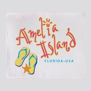 Amelia Island - Throw Blanket