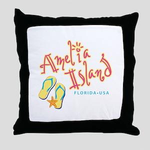 Amelia Island - Throw Pillow