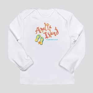 Amelia Island - Long Sleeve Infant T-Shirt