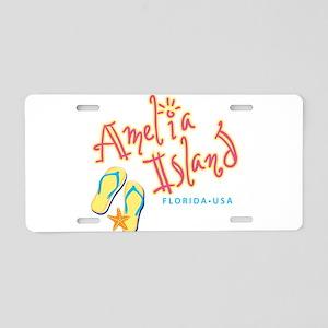 Amelia Island - Aluminum License Plate