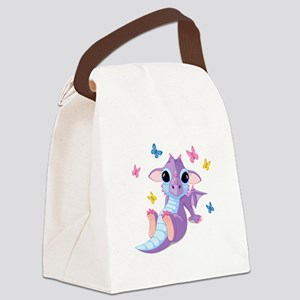 Baby Dragon - Canvas Lunch Bag