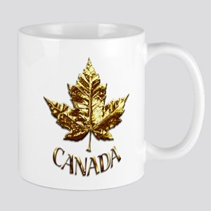 Gold Canada Souvenir Mugs