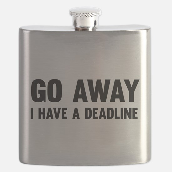 Go away I have a deadline Flask