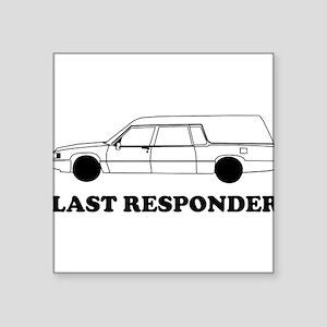 Hearse last responder Sticker