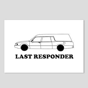 Hearse last responder Postcards (Package of 8)
