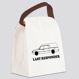 Hearse last responder Canvas Lunch Bag