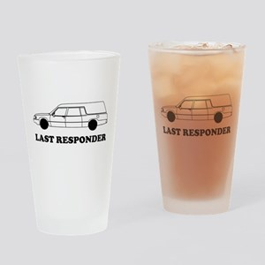 Hearse last responder Drinking Glass