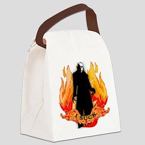 I SUCK Vampire Nosferatu Canvas Lunch Bag