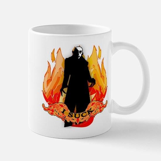 I SUCK Vampire Nosferatu Mug