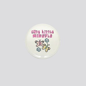 Cute Little Mikayla Mini Button